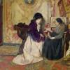 The Fortune Teller by c. 1890s - Cesare Maccari (Italian, 1840-1919)