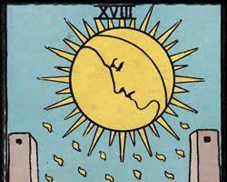 Significado de la carta La Luna