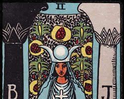 Significado de la carta La Suma Sacerdotisa