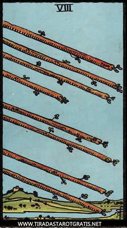 Significado del ocho de Bastos
