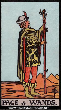 Significado de la sota de Bastos