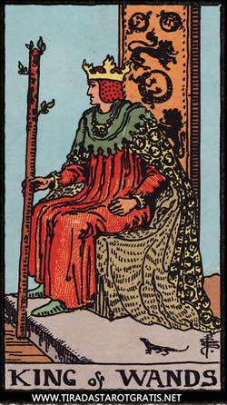 Significado del rey de bastos
